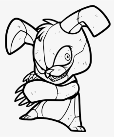 fnaf-coloring-pages-8 - Coloring Pages For Kids   280x234