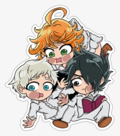 Promised Neverland Emma X Norman Hd Png Download Transparent Png Image Pngitem