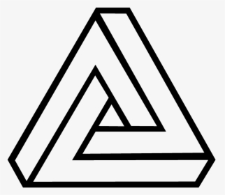 Funny Easy Easy Optical Illusions To Draw For Kids Penrose Triangle Png Transparent Png Transparent Png Image Pngitem