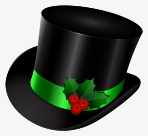 Top Hat Clipart Long Snowman Top Hat Clip Art Hd Png Download